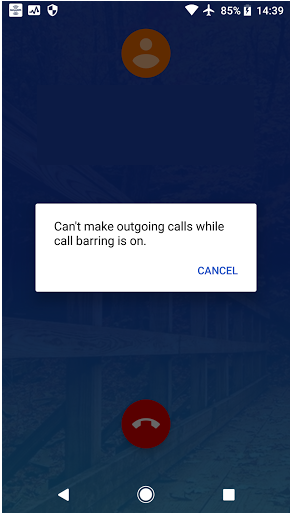 Can't make SIP calls with call barring on *#33# - Verizon Community
