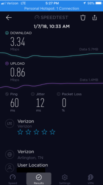 Very slow speeds since upgrading to Unlimited Plan - Verizon