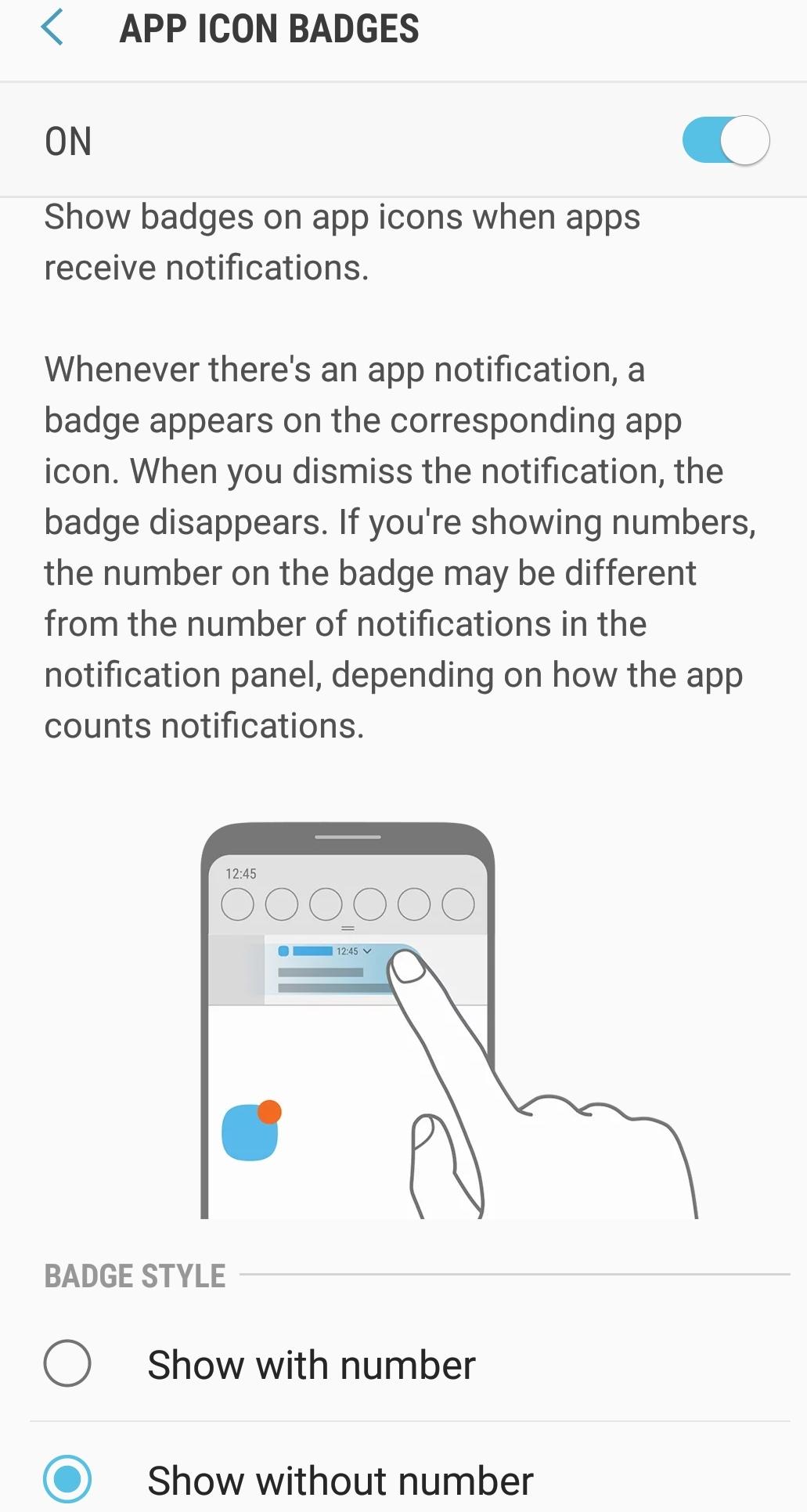 Badge notifications missing - Verizon Community