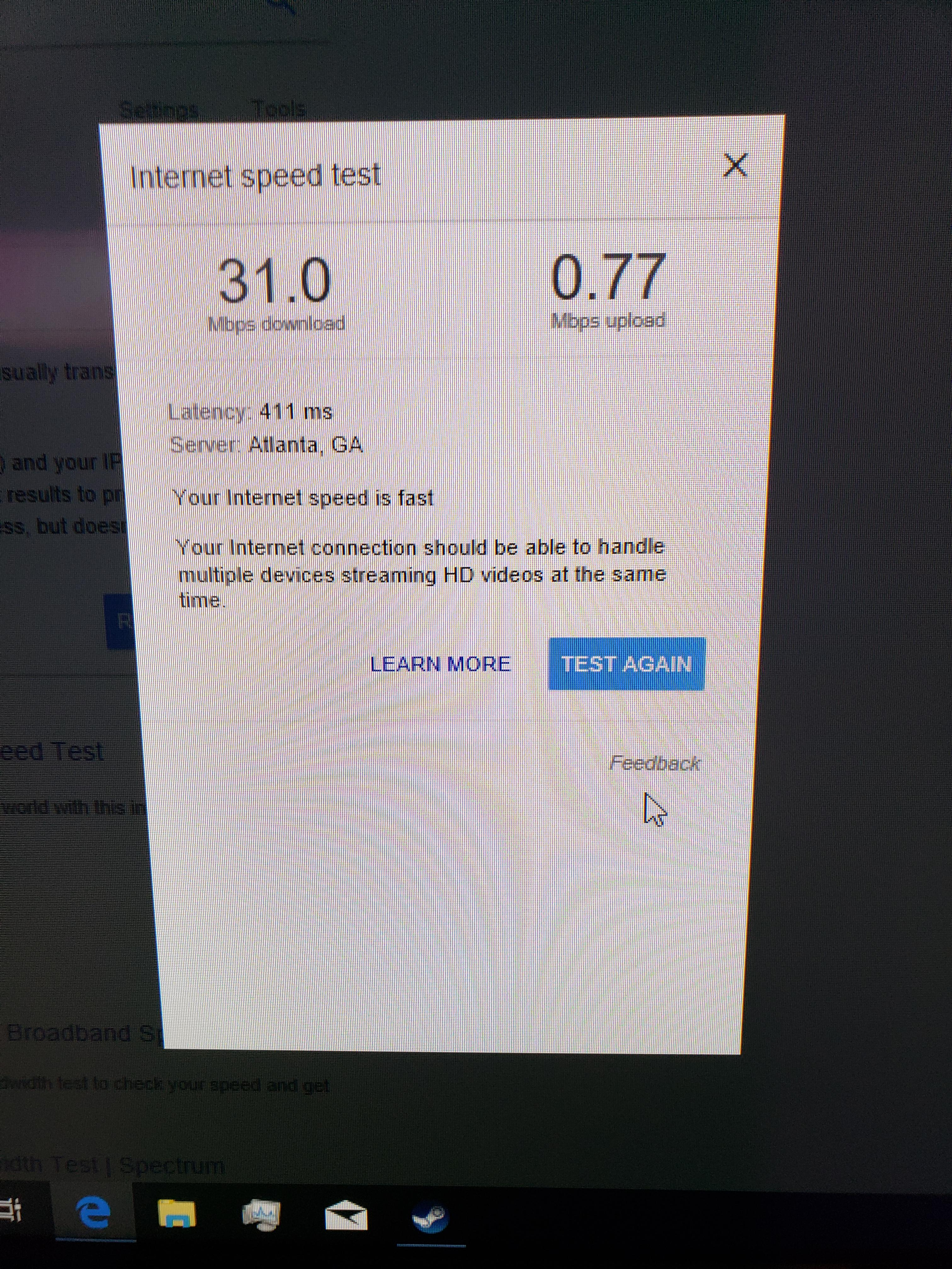 Slow hotspot/tethering speeds - very disappointed - Verizon