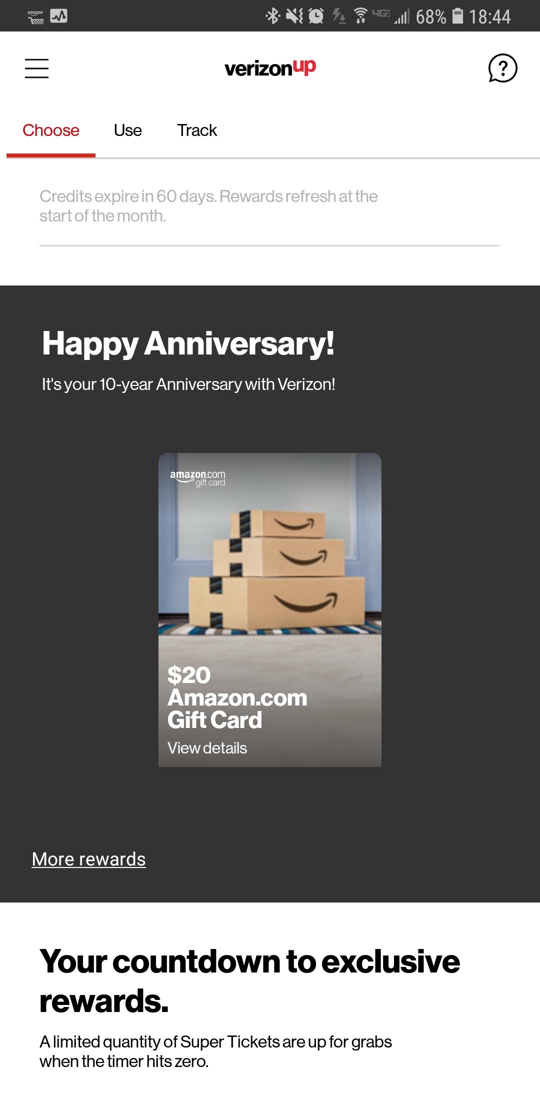 What Was Your Anniversary Gift Verizon Community
