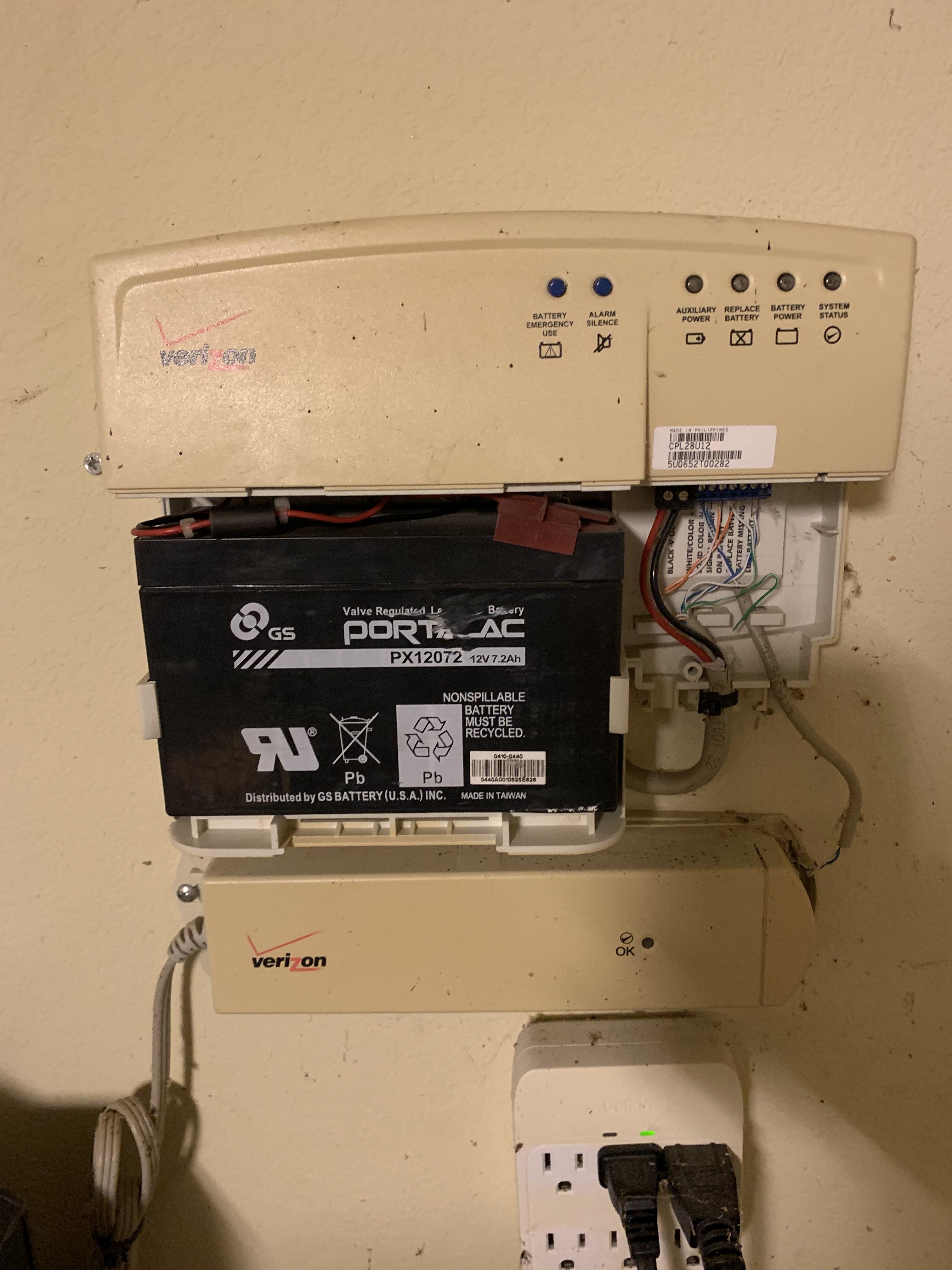 verizon router ethernet wall jack wiring correct answer fios box in my garage  help    verizon community  correct answer fios box in my garage