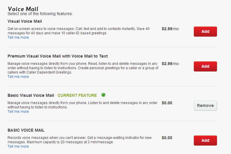 Correct Answer: How to set up Basic Visual Voicemail