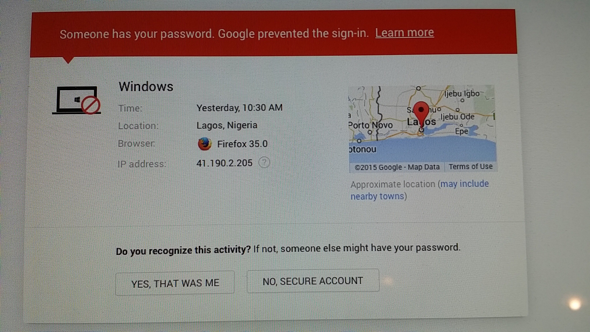 Firefox and hacked accounts - Verizon Community
