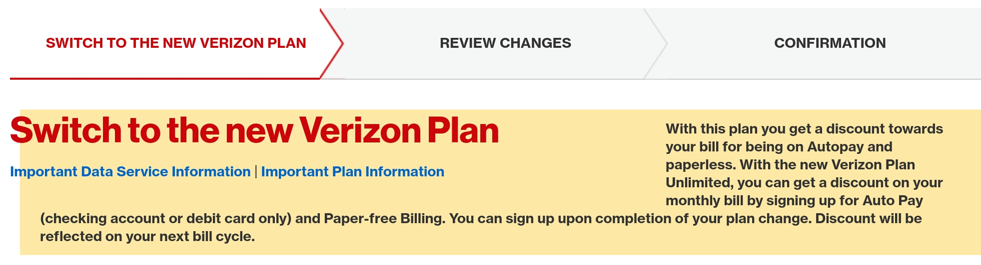 Correct Answer: Autopay Discount with Credit Card? - Verizon