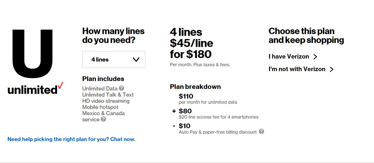New unlimited plan     misleading marketing - Comunidad de Verizon
