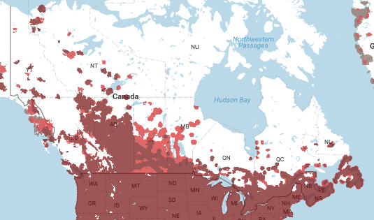 Verizon Coverage Map For Canada Helpno calls in Canada!   Verizon Community