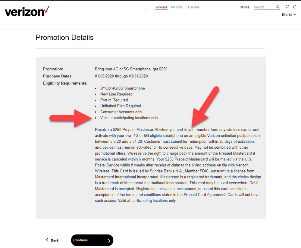 Verizon Wireless Christmas Deals 2020 Correct Answer: Confusing rebate requirements for March 2020 BYOD