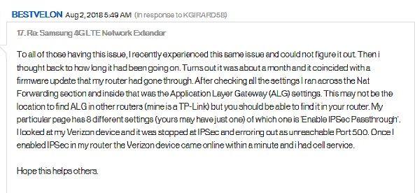 4G Net Extender issues.jpg