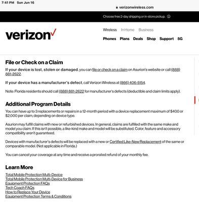 Asurion Iphones Rebranded Verizon Community
